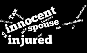 Innocent Spouse vs Injured Spouse - What is the Difference